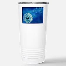 Dandelions in the Blue Travel Mug