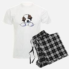 St. Bernard Puppy Pocket Pajamas