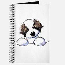 St. Bernard Puppy Pocket Journal