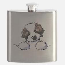 St. Bernard Puppy Pocket Flask