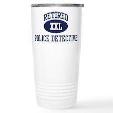 Cute Retired police Travel Mug