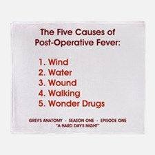 THE 5 CAUSES OF... Throw Blanket