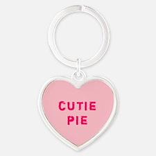 Pink Cutie Pie Conversation Heart Keychains