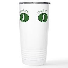 Cute Humorous golf Travel Mug