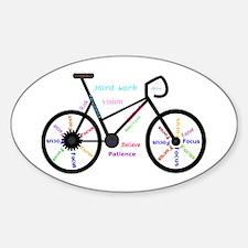 Women's Mountain Bike Inspirational Words Stic
