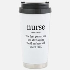 nurse definition Travel Mug