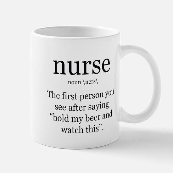 nurse definition Mugs
