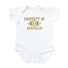 Property of Acapulco Infant Bodysuit