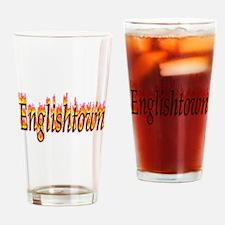 Englishtown Flame Drinking Glass