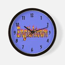 Englishtown Flame Wall Clock