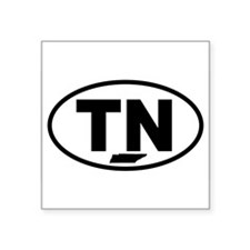 "Cute Tennessee Square Sticker 3"" x 3"""