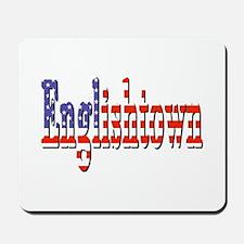 Patriotic Englishtown Mousepad