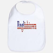 Patriotic Englishtown Bib