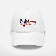 Patriotic Englishtown Baseball Baseball Baseball Cap