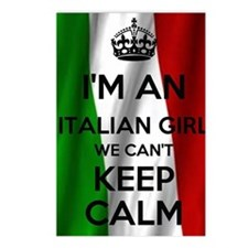 I'm an Italian Girl Postcards (Package of 8)