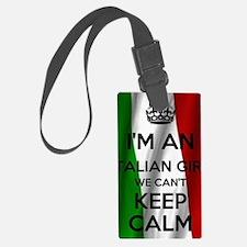 I'm an Italian Girl Luggage Tag