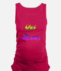Get Jazzy 1 Maternity Tank Top