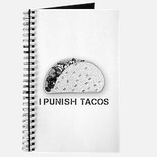 """""""I Punish Tacos"""" Journal"""