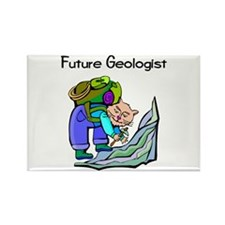 Future Geologist Rectangle Magnet (100 pack)