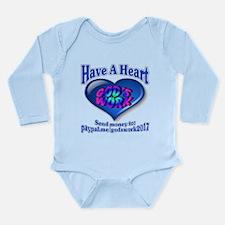 Support Senior Citizen Long Sleeve Infant Bodysuit