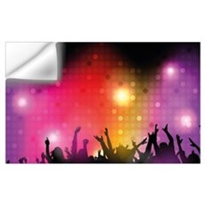 Concert and Applause Wall Decal