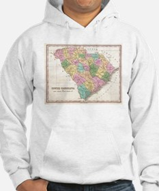 Vintage Map of South Carolina (1 Hoodie
