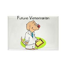 Future Veterinarian Rectangle Magnet