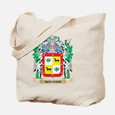 Acevedo Coat of Arms - Family Crest Tote Bag
