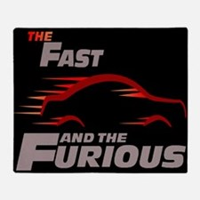 Fast And Furious Throw Blanket