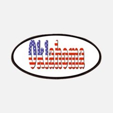 Patriotic Oklahoma Patch