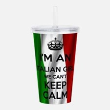 I'm an Italian Girl Acrylic Double-wall Tumbler