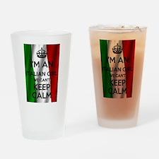 I'm an Italian Girl Drinking Glass