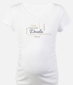 Birth Doula Word Cloud (Colored) Shirt
