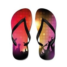 Concert and Applause Flip Flops