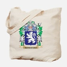 Adamkiewicz Coat of Arms - Family Crest Tote Bag
