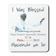 Pope Francis Apostolic Journey Blessed i Mousepad