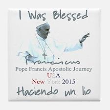 Pope Francis Apostolic Journey Blesse Tile Coaster