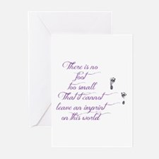 There Is No Foot Too Sma Greeting Cards (pk Of 20)