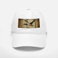 vintage rustic western duck Baseball Baseball Cap