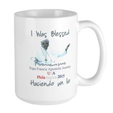 Pope Francis Apostolic Journey Blessed in Phi Mugs