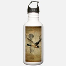 vintage rustic western Water Bottle