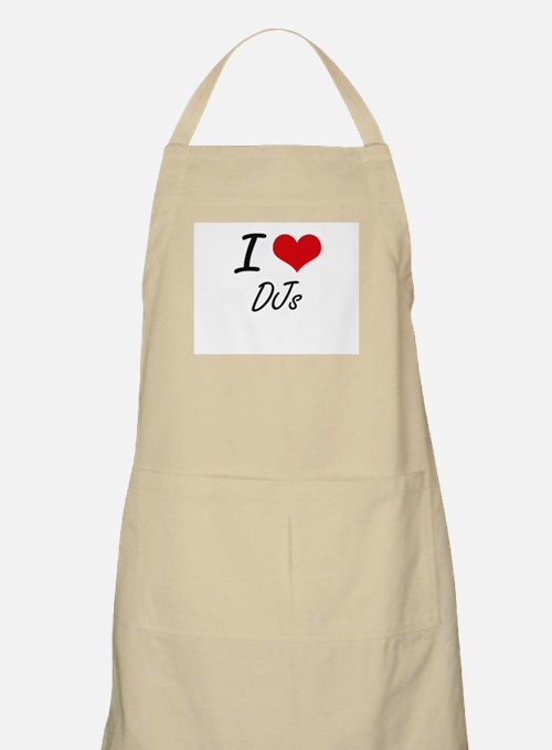 I love DJs Apron