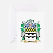 Adrien Coat of Arms - Family Crest Greeting Cards