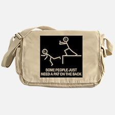 Pat on the back Messenger Bag