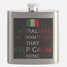 I'm Italian, We Don't Do That Flask