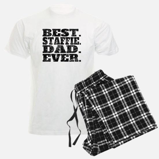 Best Staffie Dad Ever Pajamas