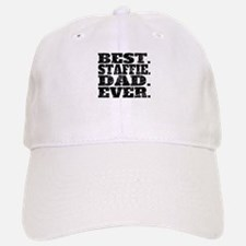 Best Staffie Dad Ever Baseball Baseball Baseball Cap