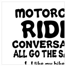 MOTORCYCLE RIDER CONVERSATIONS  Poster
