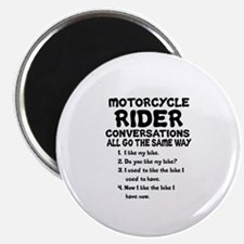 MOTORCYCLE RIDER CONVERSATIONS  Magnet