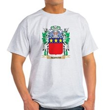 Agosto Coat of Arms - Family Crest T-Shirt